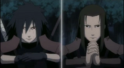 Hashirama vs Madara en Generations