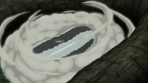 Jutsu de Invocación Katsuyu Anime