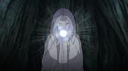 Kaguya mange le fruit de Shinju