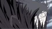 Muku transformándose en Satori