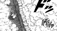 Naruto usando o Estilo Terra