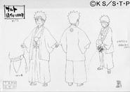 Arte Pierrot - Naruto Kimono Cerimonial