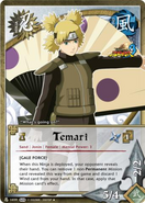 Carta Naruto Storm 3 Temari