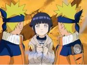 Hinata e Naruto vs Pássaro Gigante