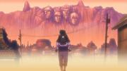 Lembrança de Itachi carregando Sasuke