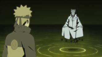Naruto and Hagoromo meet