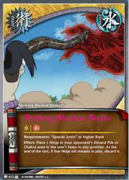 Sorprendente Sombra Serpiente BP