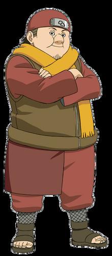 Tsuchikages's Body Guard Akatsuchi