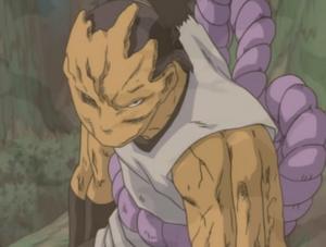 Armadura de Oro Adherido Anime