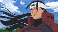 Hashirama durante su juventud como líder del Clan Senju