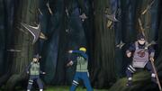 Jutsu del Dios Trueno Volador Anime 1