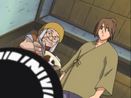 Karashi e Sansho dando curry à Lee