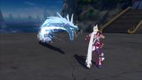 Liberação de Água - Técnica do Projétil do Dragão de Água (Suigetsu - Game)