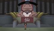 Naruto se encontra com o Grande Sapo Eremita