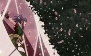 Shino destruye el Elemento Cristal