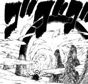 A explosão de chakra (Capítulo 414)