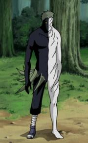 Aparência do Zetsu Negro Inteiro