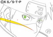 Arte Pierrot - Kakashi (vs Obito)