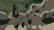 Liberação de Terra - Voo de Pedras Atiradas (Iō)