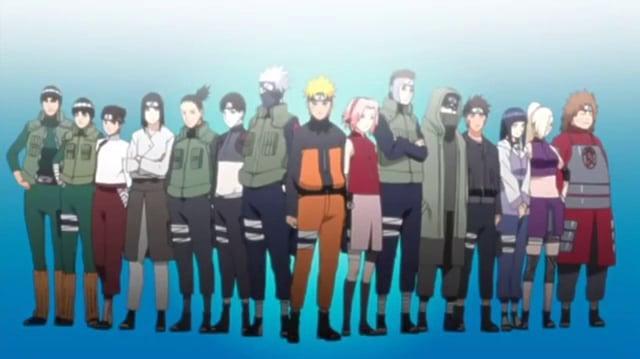 Naruto Shippuden Opening 5