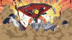 Naruto destroying Asura path
