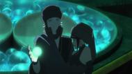Toneri tenta recolocar a esfera em Hinata.