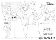 Arte Pierrot - Genin de Suna (Marionete)