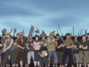 Inari and townpeople