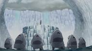 Os clones se curvam ao Shin