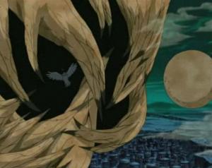 Prisión de Atadura de Arena Anime