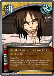Transformación de Serpiente FotS