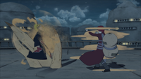 Cintilação Corporal de Areia (Gaara - Game)