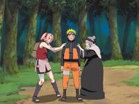 Dissipação de Genjutsu (Sakura e Chiyo)