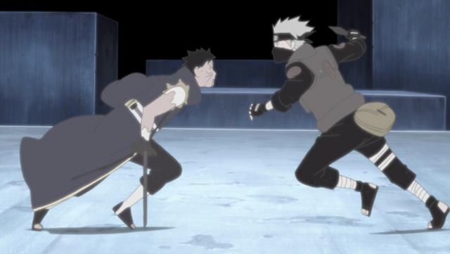 Obito a Kakashi