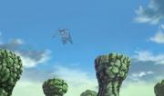 Mu voando