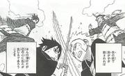 Senju and Uchiha fight