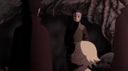 Yamato aparece para Sasuke