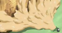 Elemento Lava Pared de Goma Anime