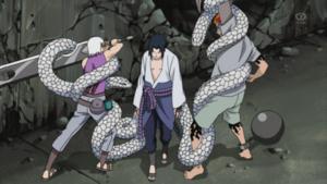 Hechizo de la Autoridad de Serpientes Anime