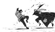 Hidan ataca Shikamaru