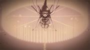 Honoka realizando el Sellado de Bestia