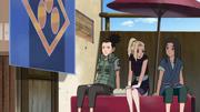 Ino, Shikamaru e Shū