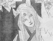 Kaguya llora al ver a Naruto y Sasuke