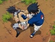 Sasuke vs Zaku