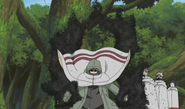 Shino preparado para batalha
