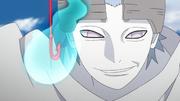 Urashiki toma el chakra de Mitsuki