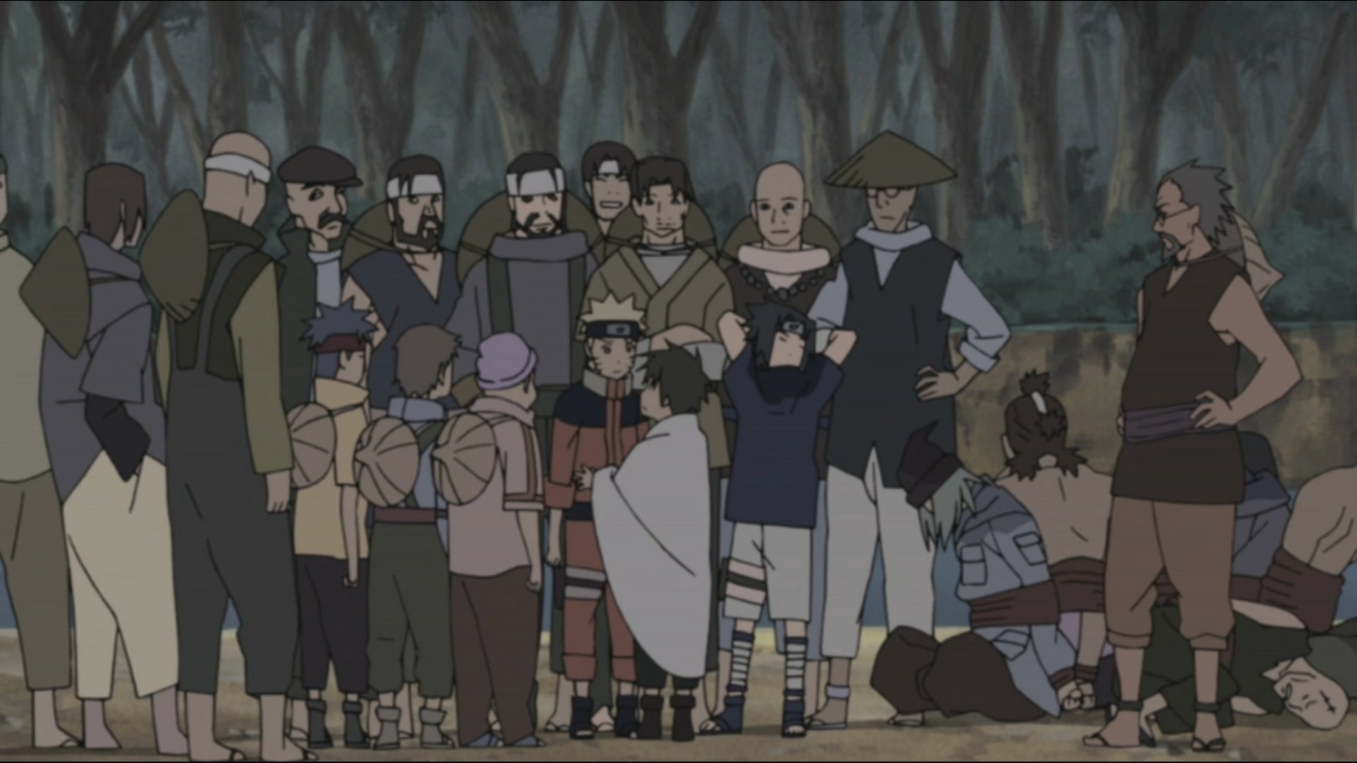 Inari's Courage Put to the Test | Narutopedia | FANDOM powered by Wikia