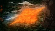Jutsu Gran Combo de Elemento Quíntuple Anime