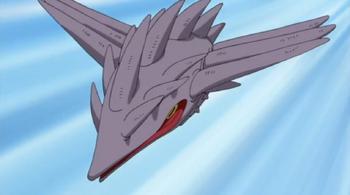 El Mazo en su forma aérea.