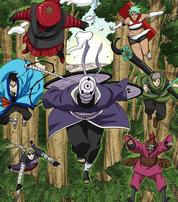 Seis Caminos del Dolor de Obito Uchiha Manga